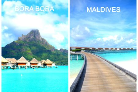 兩大奢華級人間天堂大比併!  馬爾地夫 vs Bora Bora