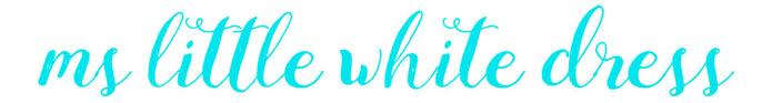 ms little white dress | 矽谷旅人